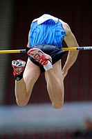 Derek MILES, USA, pole vault, first place, at the IAAF 2008 World Athletics Final for track and field in the Mercedes-Benz Arena, Stuttgart, Baden-Wue...