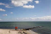 Baltic Sea beach on Fehmarn Island, Schleswig_Holstein, Germany, Europe