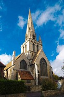 All Saints Church along Jesus Lane in central Cambridge England UK Europe