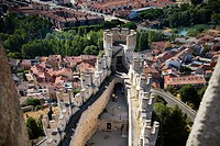 Peñafiel castle  Valladolid  Spain