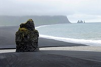 roch at the coast, Iceland, Suedkueste