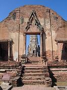 temple Wat Rachaburana, Thailand, Ayutthaya