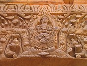 Khmer_Temple Muang Tam, stone relief, Thailand