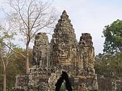 temple complex, Angkor Thom, Cambodia, Angkor