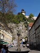 building Uhrturm of Graz, Austria, Graz
