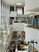 CARLISLE HEALTH AND CARE CENTRE BELFAST PENOYRE AND PRASAD INTERIOR ATRIUM