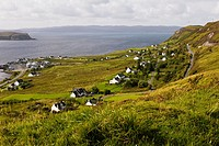 The village of Uig