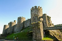 Conwy Castle, Conwy, Wales  This 13th century castle with its town walls is one of the best preserved in the United Kingdom