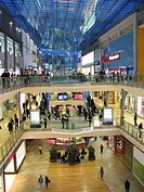 Big shopping mall in Birmingham called ´The Bullring´, United Kingdom, England, Birmingham