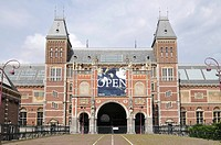 Rijksmuseum, State Museum, Stadthouderskade 42, Amsterdam, The Netherlands, Europe