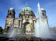 Berlin, Cathedral, low angle view