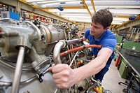 MTU Aero Engines GmbH: maintenance of the Transall engine Tyne, MUNICH, GERMANY.