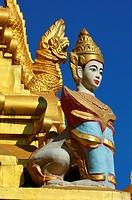 Yangon statue, Burma
