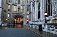 King´s College Library on Chancery Lane / Fleet Street, City of Westminster, London, UK