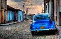Sunset in Trinidad, Cuba, Caribbean