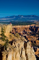 USA, Utah, Bryce Canyon National Park, from Bryce Point