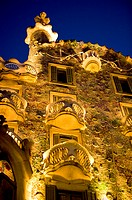 Spain, Catalonia, Barcelona, Casa Batllo