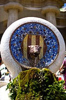 Spain, Catalonia, Barcelona, Parc Guell (thumbnail)