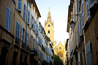 City View in Aix-en-Provence, Provence-Alpes-Cote d'Azur, France (thumbnail)