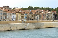Rhone River in Avignon, Provence-Alpes-Cote d'Azur, France (thumbnail)