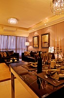 Modern Interior Design _ Dining Room & Living Room