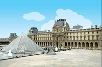 France, Paris, Louvre, Capital Cities