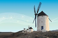 Spain, windmill
