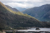 Rugged landscape of Loch Hourn
