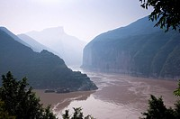 China, Yangtze River, Three Gorges, Qutang Gorge, Kui Gate (thumbnail)