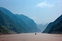 China, Yangtze River, Three Gorges, Wu Gorge