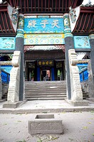 Temple in Ghost City, Three Gorges, Yangtze River, China