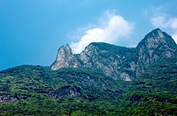China, Yangtze River, Three Gorges, Wu Gorge, Wushan, Goddess Peak
