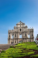 China, Macou, Ruins of Saint Paul's, UNESCO, World Cultural Heritage