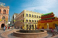 China, Macou, Senado Square, UNESCO, World Cultural Heritage (thumbnail)