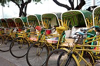 China, Macou, Rickshaw