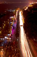 China, Hubei Province, Wuhan, Wuchang, Nightlife