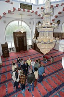 Open day in the mosque of the islamic fold, Bergisch Gladbach, North Rhine-Westphalia, Germany