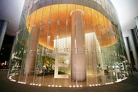 SGP Singapore: Central Business District Foyer of an office building at Georg Street. ,