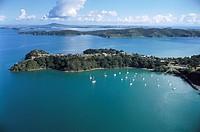 Aerial Photo, Waiheke Island Hauraki Gulf, New Zealand