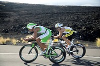 Triathlet Norman Stadler GER during the Ironman World Championship in Kailua_Kona Hawaii USA