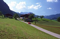 Farm near Inzell, Bavaria, Germany