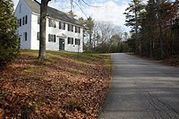 Walpole Meeting House during the autumn months  Located in Bristol, Maine USA This Meetinghouse is listed on the National Register of Historic Places