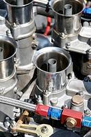 Cylinder, AC Cobra, Vintage cars Grand Prix Nuerburgring 2007, Germany