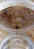Fresco Paiting, Church of Pilgrim Sonntagberg, Austria, Lower Austria, Mostviertel Region