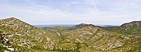 Panoramic view of Mallorca's northern coast, Mallorca, Balearic Islands, Spain, Europe