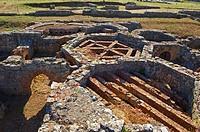 Roman Ruins. Conimbriga. Coimbra. Portugal.