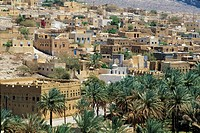 village Al-Hamra,Akhdar djebel,Dhofar,Sultanate of Oman,Arabian Peninsula,southwest Asia