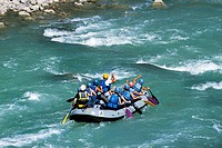 Rafting in the Pyrenees, France