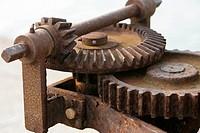 Rusty cogwheels
