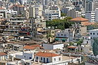 Roofs in Nicosia, Cyprus